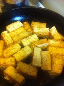 tofu cooking